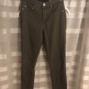Green High Waisted Jegging